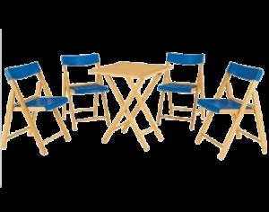 conuunto potenza 4 cadeira